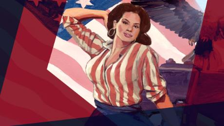 American Woman Ashley Graham Illustrated