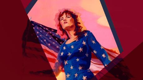 American Woman Pat Benatar Illustrated