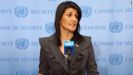 Haley: Iranians are crying out for freedom