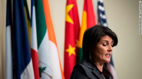 Haley: US won't accept a nuclear North Korea
