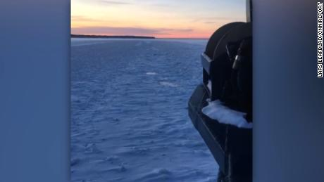 Photographer Lars Leafblad shot this video Tuesday morning from the Island Queen ferry, which was sailing between Bayfield, Wisconsin, to Madeline Island in Lake Superior. It was the first trip of the day and the ferry was crunching through the ice. He said he was only outside for about a minute. It was -7 degrees. title: Instagram post by Lars S Leafblad • Jan 2, 2018 at 1:45pm UTC duration: 00:00:00 site: Instagram author: null published: Wed Dec 31 1969 19:00:00 GMT-0500 (EST) intervention: no description: null
