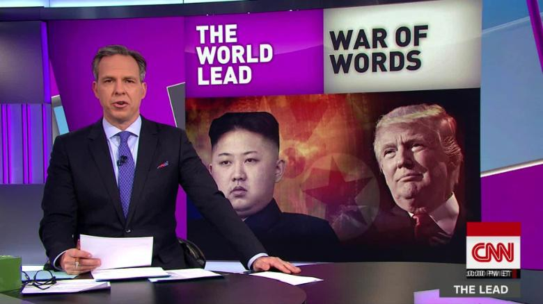 lead jake tapper trump north korea live_00000000