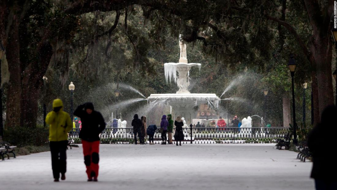 Winter storm threatens East Coast, bringing temps colder than Mars – Trending Stuff