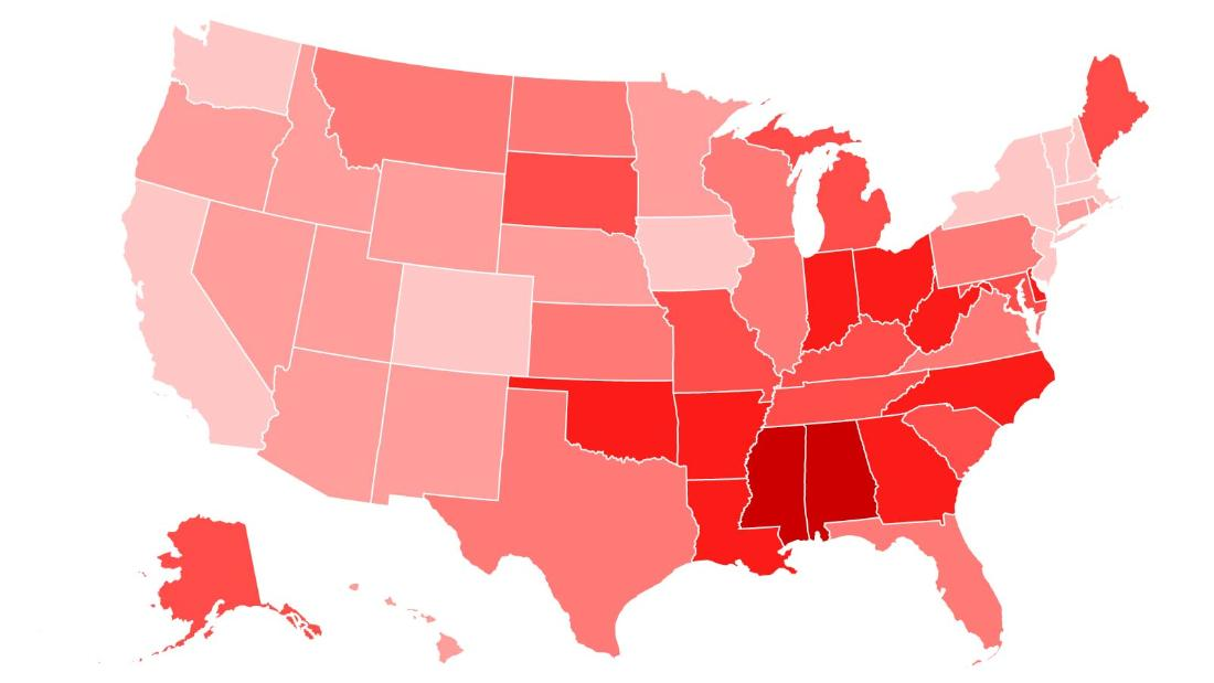 Infant mortality: States with the highest rates - CNN