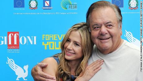 Mira and Paul Sorvino on July 20, 2013 in Giffoni Valle Piana, Italy.  (Photo by Stefania D'Alessandro/Getty Images)