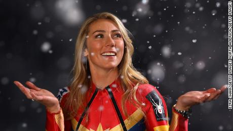 PARK CITY, UT - SEPTEMBER 25:  Alpine skier Mikaela Shiffrin poses for a portrait during the Team USA Media Summit ahead of the PyeongChang 2018 Olympic Winter Games on September 25, 2017 in Park City, Utah.  (Photo by Ezra Shaw/Getty Images)