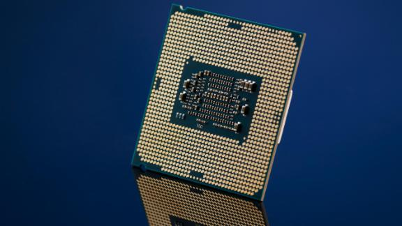 An Intel Core i7-7700K CPU, taken on November 17, 2016. (Photo by Joby Sessions/Maximum PC Magazine via Getty Images)