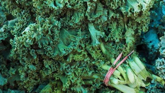Kale, edging out nectarines for third place this year, most commonly tested positive for Dacthal, which is a potential cancer-causing agent. Greater than 92% of the samples of kale tested positive for two or more pesticide residues.