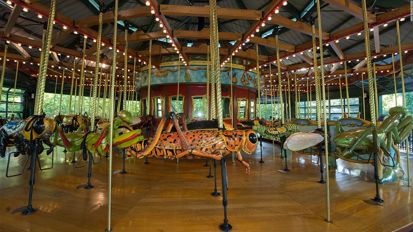 New York City\'s carousels: Where to find them | CNN Travel