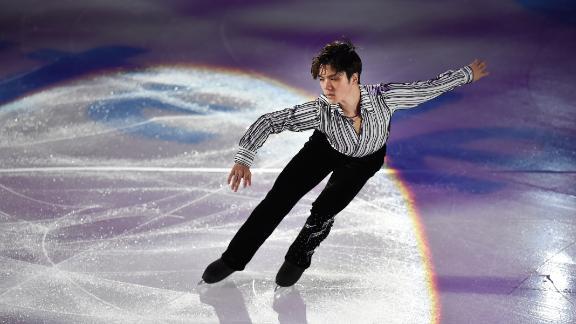 Japan's Shoma Uno, at the Rostelecom Cup 2016 ISU Grand Prix of Figure Skating on November 6, 2016. (ALEXANDER NEMENOV/AFP/Getty Images)