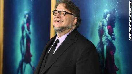 "Director Guillermo del Toro attends the premiere of ""The Shape of Water,"" November 15, 2017 at the Academy of Motion Pictures Arts & Science in Beverly Hills, California. / AFP PHOTO / Robyn Beck        (Photo credit should read ROBYN BECK/AFP/Getty Images)"