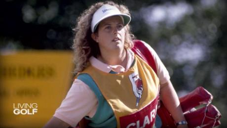 Fanny Sunesson: The first female caddy to win a major