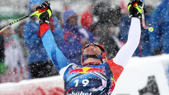 No guts, no glory: Winning at Kitzbuhel is the ultimate for a downhill racer. Austrian great Franz Klammer did it four times but Swiss Didier Cuche (pictured) holds the record with five wins.