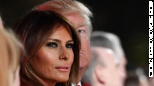 Why does Melania stay?