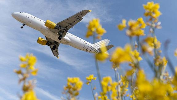 <strong>7. Vueling Airlines:</strong> Spain's Vueling Airlines was named the world's most punctual low-cost carrier. According to OAG, 85.35% of its flights arrived or departed within 15 minutes of the scheduled time.