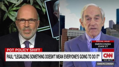 Ron Paul on Sessions' move against legal pot_00033805.jpg