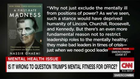 Is mental illness ever an asset to a leader?