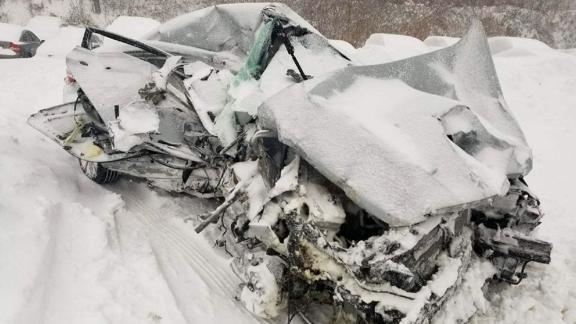 The vehicle struck by an MBTA commuter rail train was crushed in Bridgewater, Massachusetts.