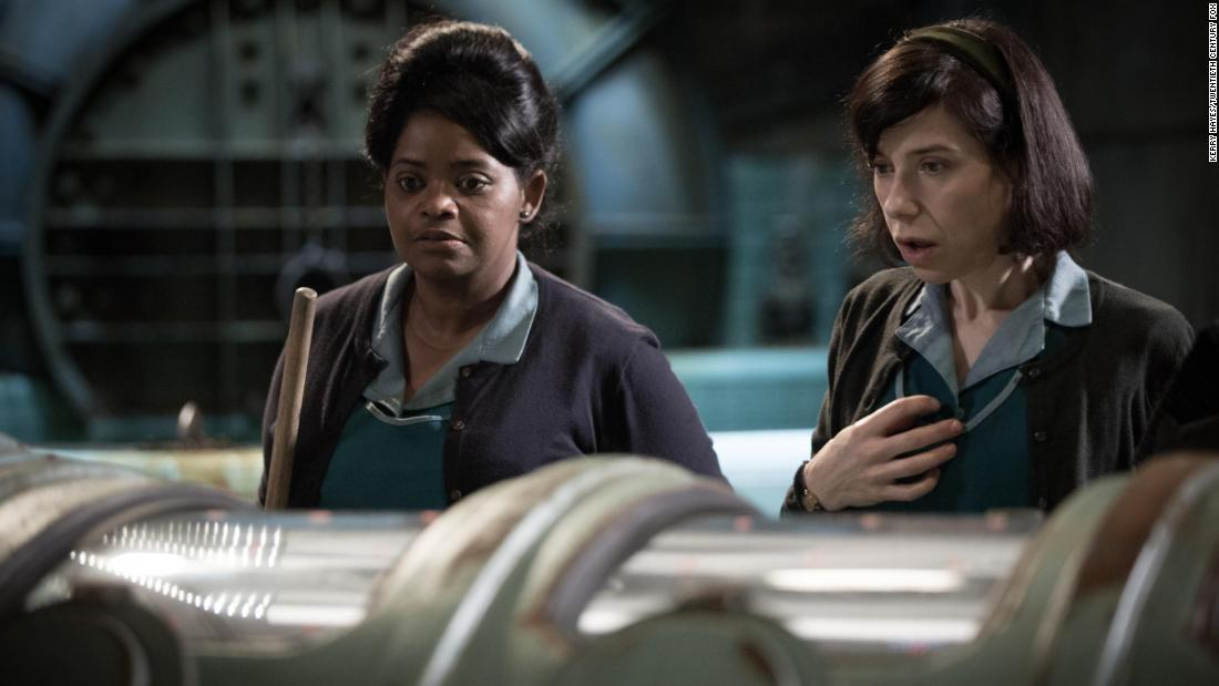 'The Shape of Water' received the most Oscar nominations with 13, including lead actress, supporting actor, supporting actress and best director.