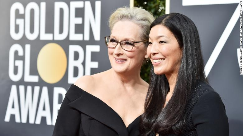 Stars explain wearing black at Golden Globes
