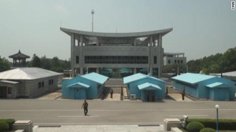 Talks between Koreas happening at Peace House