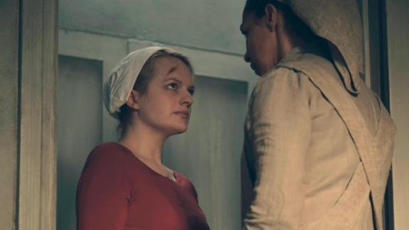 "Best television series -- drama: ""The Handmaid's Tale"""