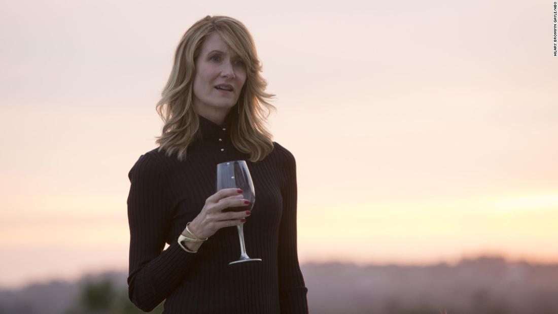 "<strong>Best supporting actress in a series, miniseries or television film:</strong> Laura Dern, ""Big Little Lies"""