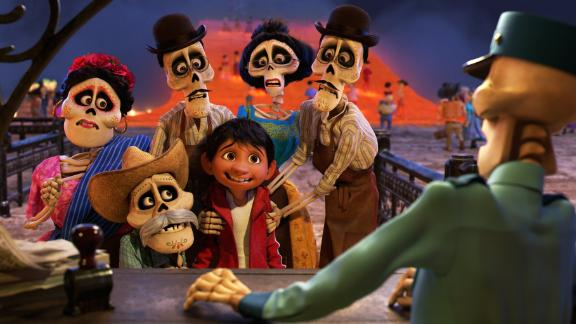 "Best animated feature film: ""Coco"""