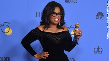 Reactions to Oprah's speech: 'We went to church'
