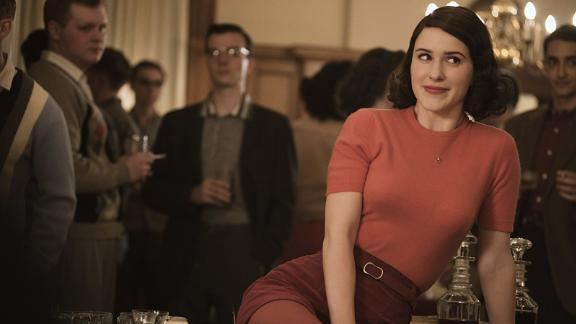 "Best television series -- musical or comedy: ""The Marvelous Mrs. Maisel"""