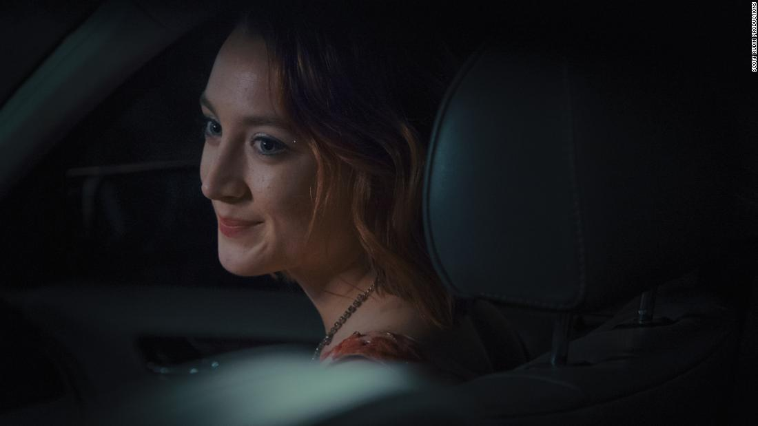 "<strong>Best actress in a motion picture -- musical or comedy:</strong> Saoirse Ronan, ""Lady Bird"""