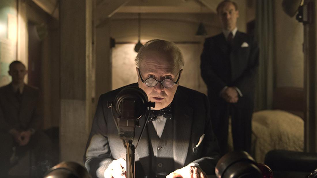 "Outstanding Performance by an Actor in a Leading Role: Gary Oldman in ""Darkest Hour"""