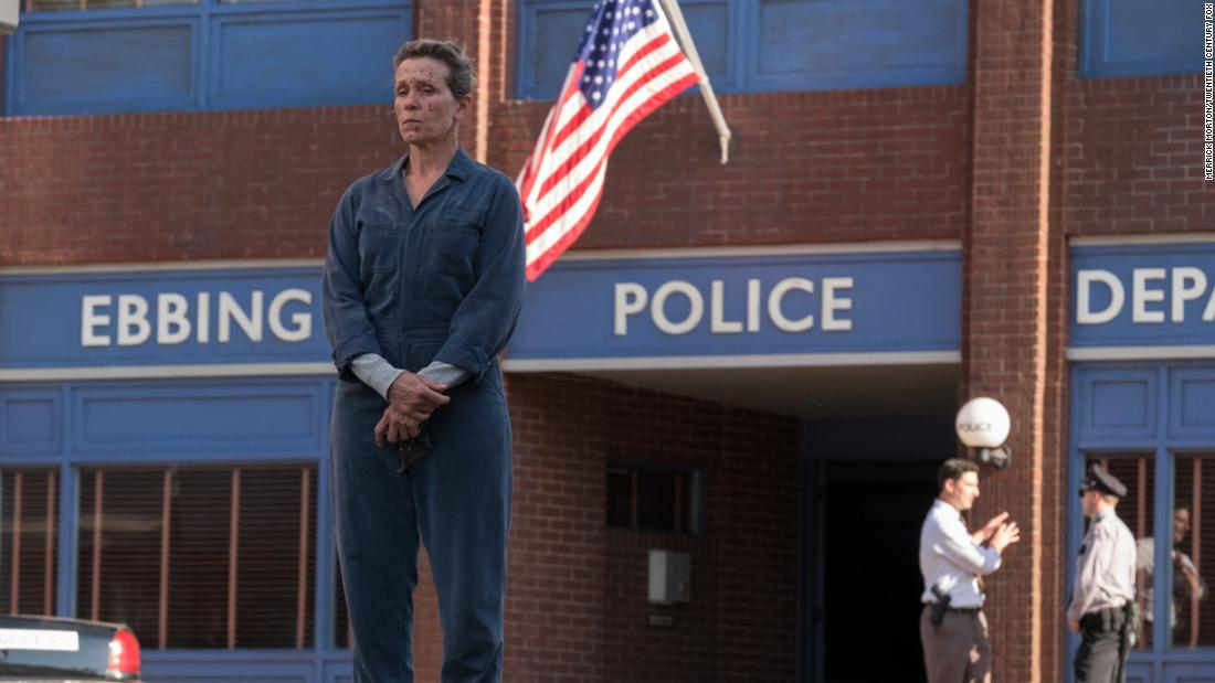 "<strong>Best motion picture -- drama:</strong> ""Three Billboards Outside Ebbing, Missouri"""