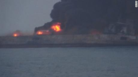 china oil tanker freighter collision rivers nr_00004717
