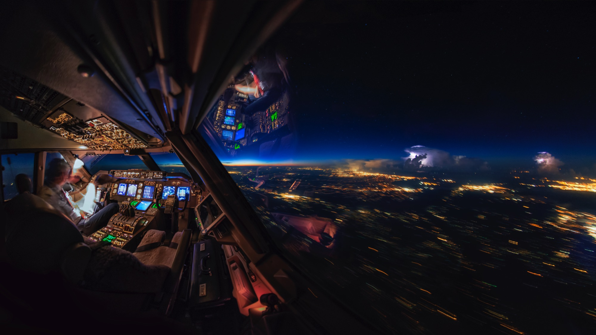 pilot s spectacular photos taken from an airplane cockpit cnn travel