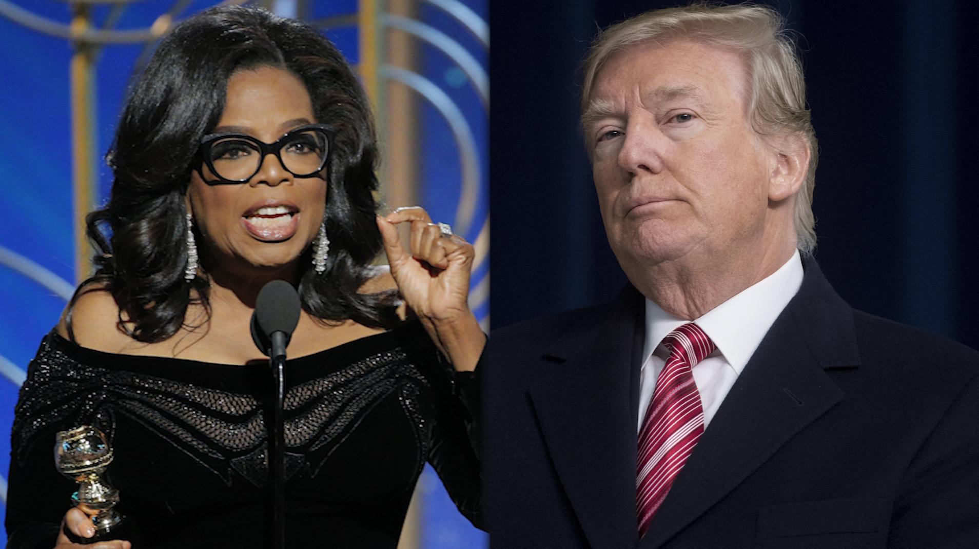Image result for images of oprah vs trump