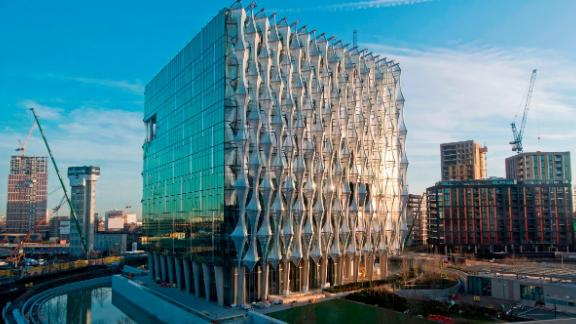 The US Embassy in Nine Elms, south-west London.