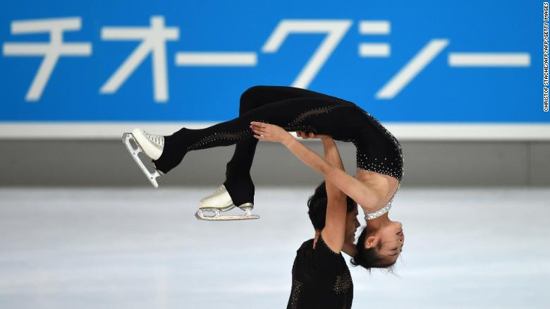 Talks keep North Korean skaters' dream alive