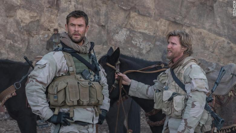 Chris Hemsworth stars in '12 Strong,' based on the true story of the first U.S. attack on the Taliban after 9/11.