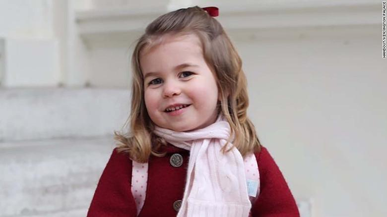 e758d9130 Princess Charlotte celebrates third birthday - CNN