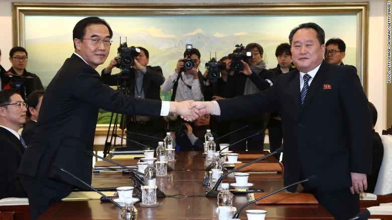 Korea talks focus on Olympics, family reunions