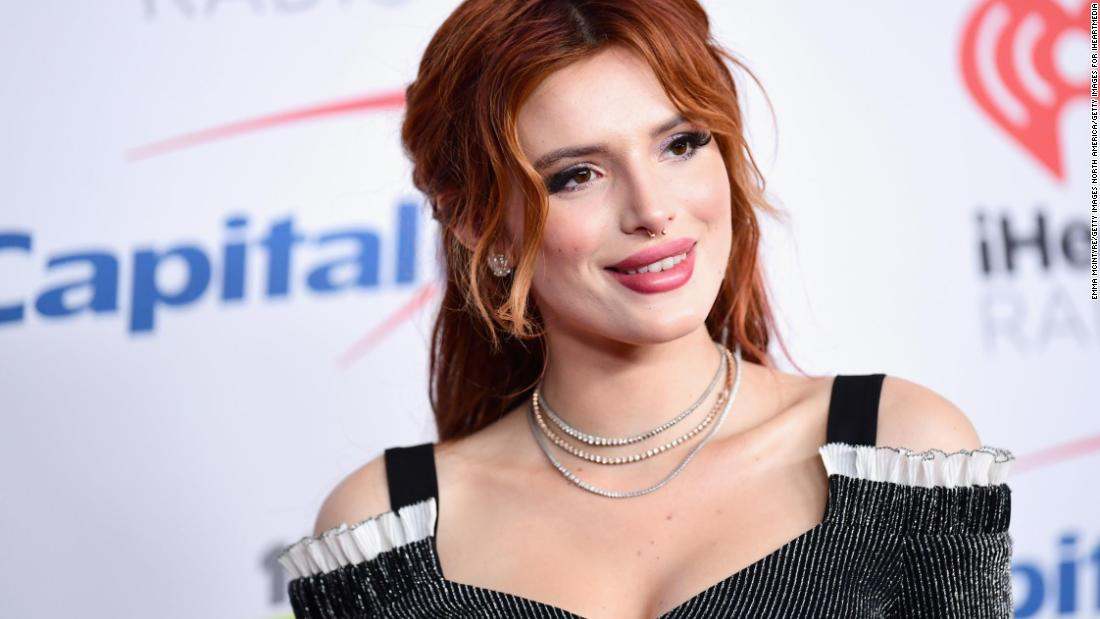 Bella Thorne shares nude photos to silence hacker