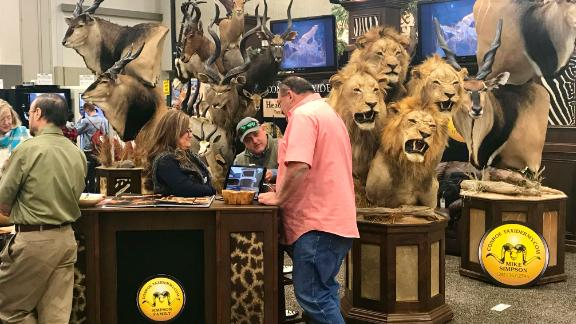 The convention includes lots of animals -- none of them alive.