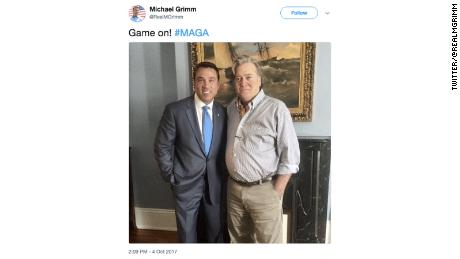 Grimm and Bannon in happier times.