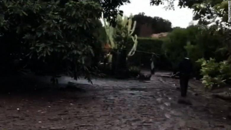 Oprah's house affected by California mudslide