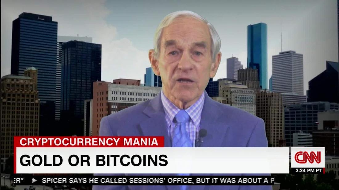 ron paul on bitcoin cnn video