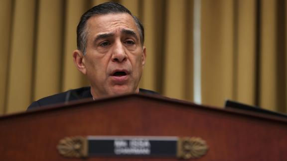 Rep. Darrell Issa (R-CA) speaks during a House Judiciary Committee hearing on March 16, 2017 in Washington, DC.