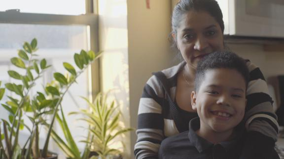 Gilma Ramirez has temporary protected status. Her son Jose is a US citizen.