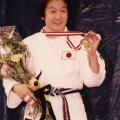ryoko tani aged 18 first world title judo
