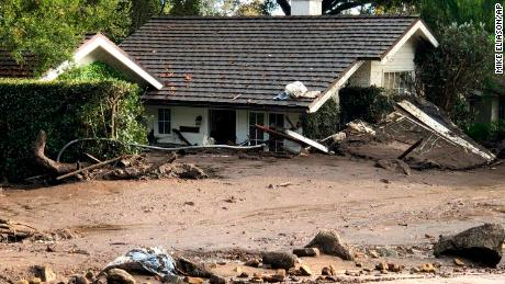 California mudslides: The frantic search for survivors